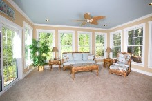 homes by vanderbuilt wilmington III sunroom
